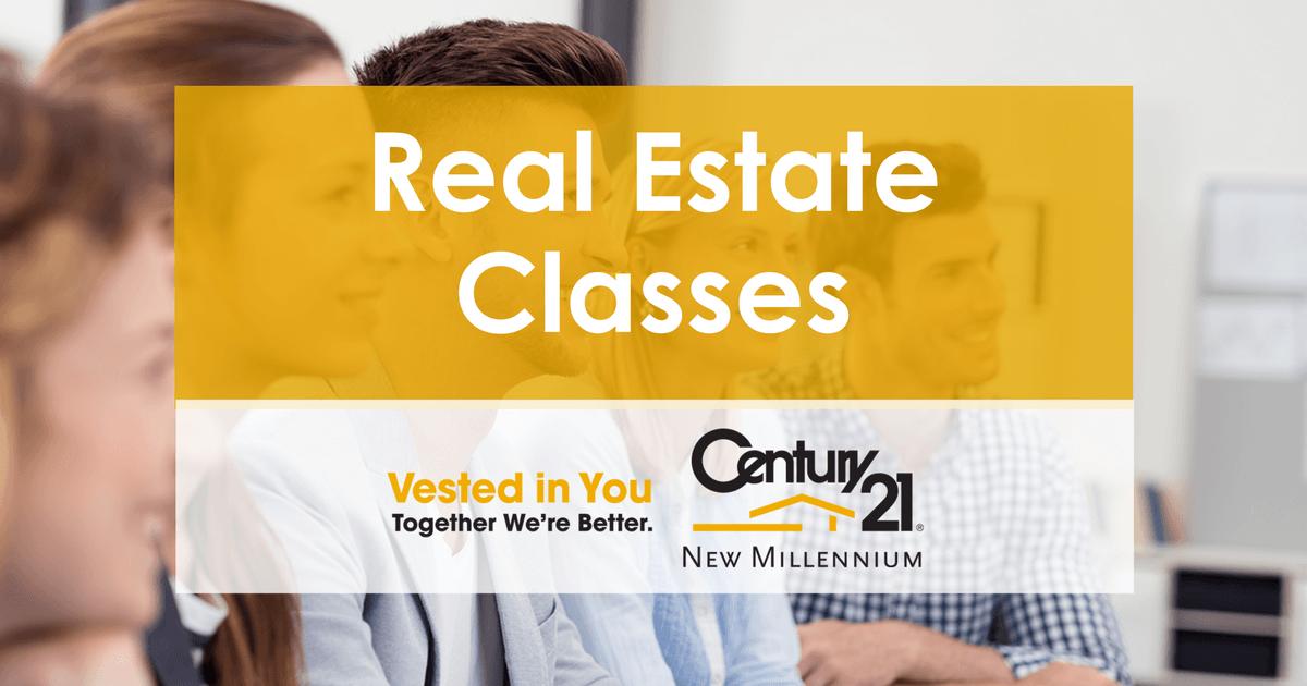real estate classes | century 21 new millennium
