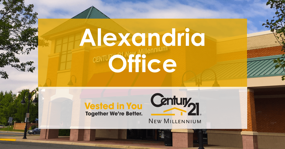 Alexandria, Virginia Office | CENTURY 21 New Millennium